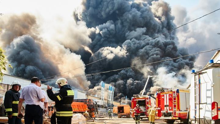 По пожару на складах в Самаре хотят возбудить уголовное дело