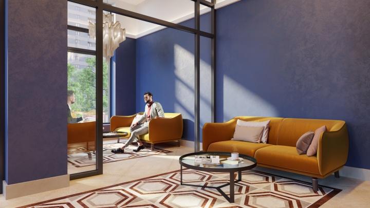 Шикарные интерьеры и западный колорит: в городе построят дом с холлами-гостиными и пентхаусами