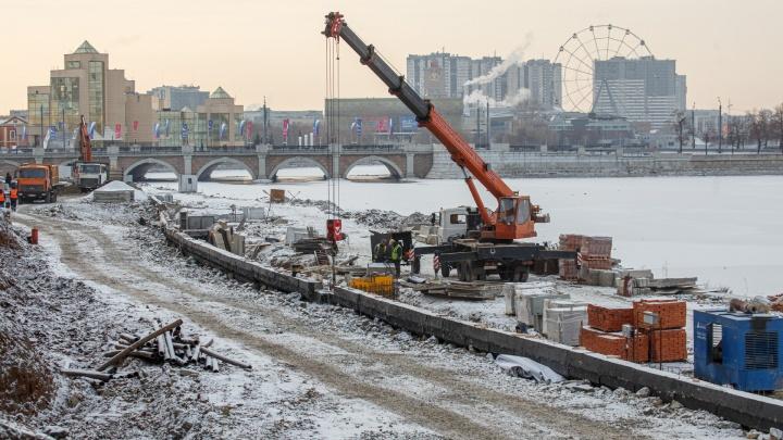 Достраивать набережную за полмиллиарда в Челябинске будет новый подрядчик