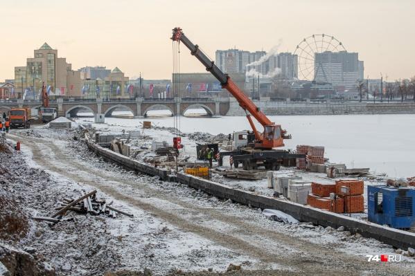 Набережную реки Миасс за Концертным залом Прокофьева все-таки достроят: новый срок сдачи объекта — 20 августа 2021 года