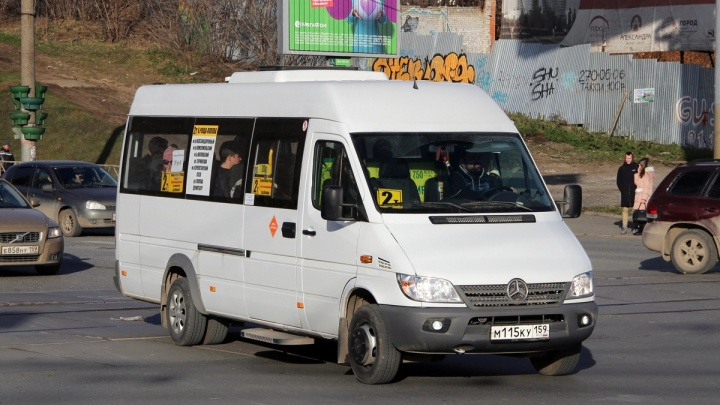 В Перми прекратило работу маршрутное такси 2т — «из-за убыточности»