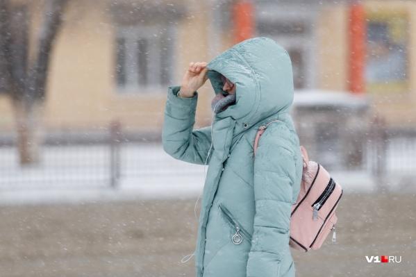 Волгоградцам советуют как следует утеплиться