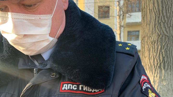 «Больной потерял много крови»: в Самаре ДПС задержала врача по пути на работу