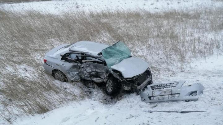 Выехала на встречку: два человека погибли в ДТП на новосибирской трассе