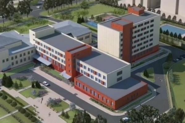 Так будут выглядеть старый корпус КемГУ и новое общежитие