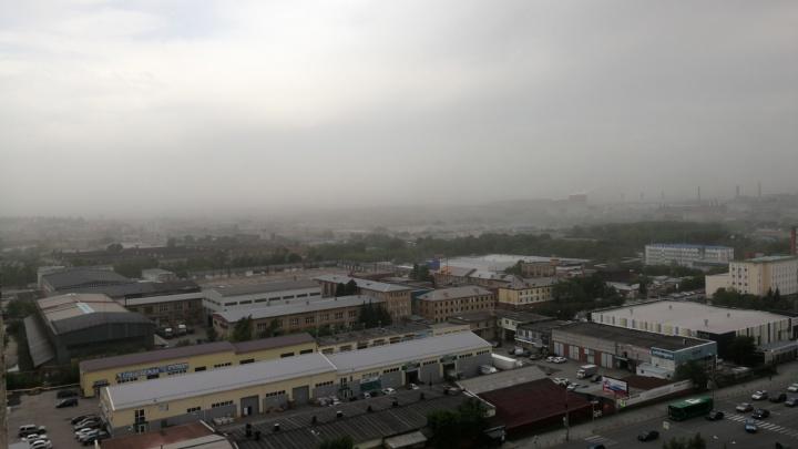 Челябинскую область накрыл ураганный ветер