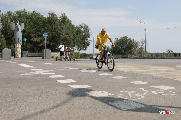 Автор велопереезда уверен, что перекресток стал безопаснее