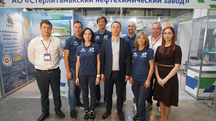 «СНХЗ» заключил меморандум о стратегическом партнёрстве с пилотажной группой «Первый полёт»