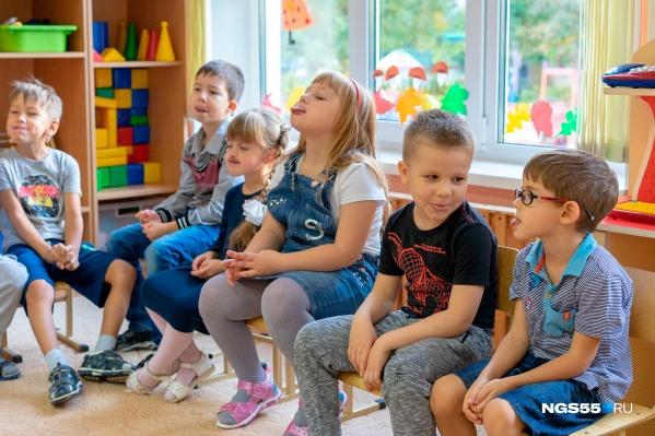 22 июня омичи смогут отправить своих детей в детский сад