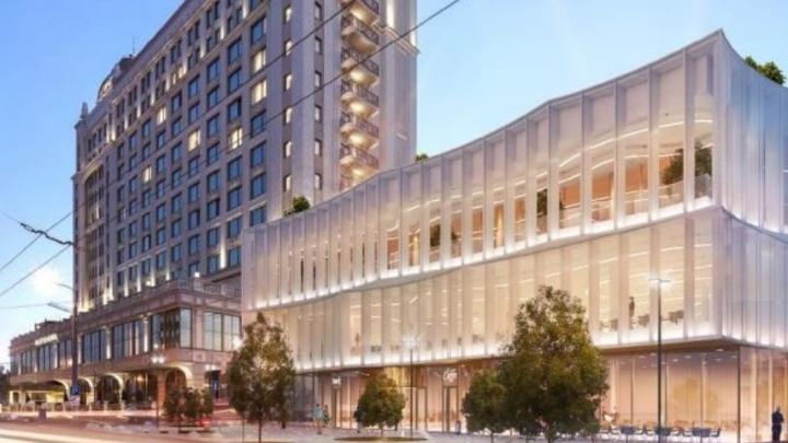 Около гостиницы Lotte хотят построить конгресс-холл