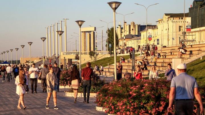 В выходные в Нижнем Новгороде будет умеренно тепло, но дождливо
