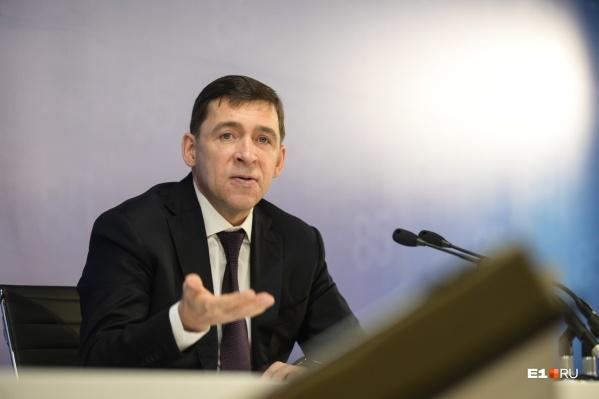 За масочным режимом должны следить и транспортники, и сами горожане, уверен Евгений Куйвашев