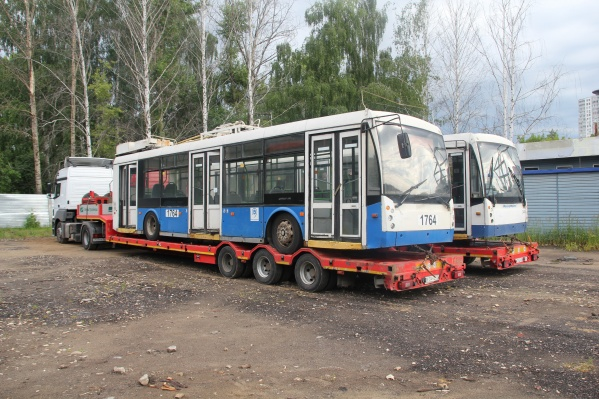 В город привезли уже 4 троллейбуса