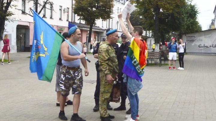 В Ярославле десантники избили ЛГБТ-активиста: полиция возбудила несколько дел