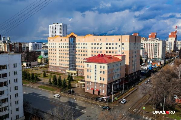 Главная больница Башкирии стала очагом коронавирусной инфекции в апреле
