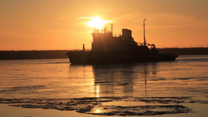 Как курсируют буксиры на островные части Архангельска? Удобное расписание в нескольких картинках