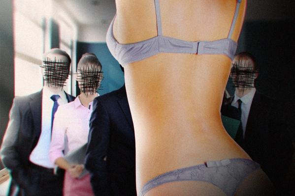 Участниц тренинга просили ходить по магазинам в одном нижнем белье и знакомиться с мужчинами