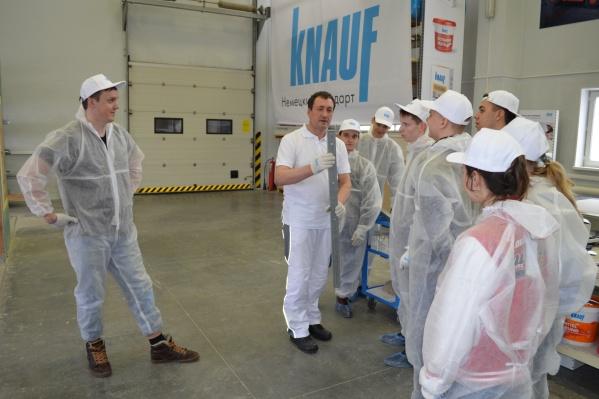 Учебный центр КНАУФ в Челябинске работает с 1997 года, за это время слушателями курсов стали более 2000 человек из различных сфер деятельности