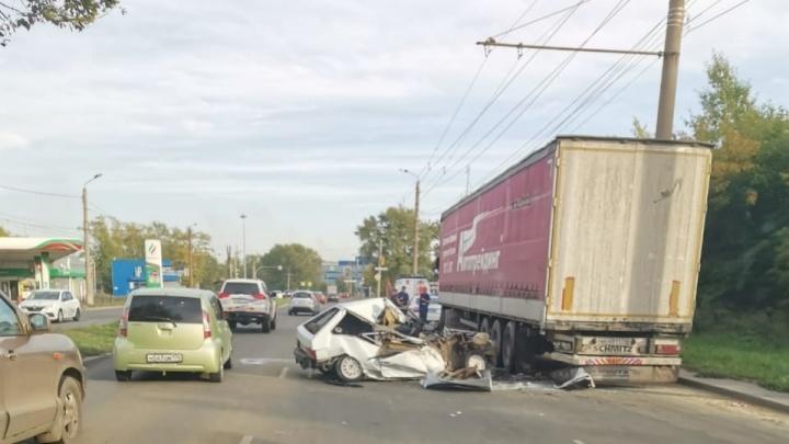 На водителя, устроившего смертельное ДТП на Копейском шоссе в Челябинске, завели уголовное дело