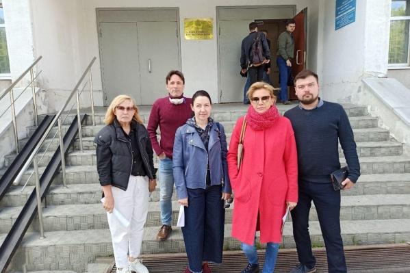 Активисты подали заявление в девятый отдел полиции