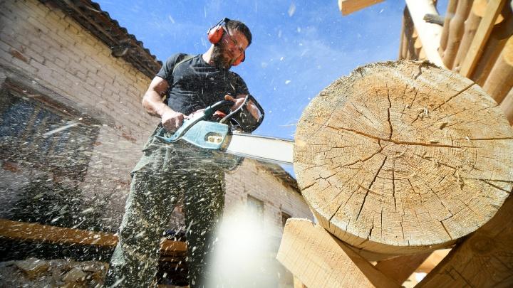 Свой дом за миллион рублей: уралец сделал бизнес на срубах-конструкторах