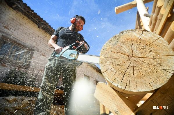 Павел Корба открыл строительный бизнес, когда построил свой дом