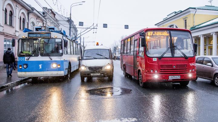 «Вечером с работы просто не уехать»: расписание транспорта в Ярославле опять поменяют