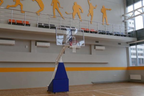 Физкультурно-оздоровительный комплекс рассчитан на разные виды спорта
