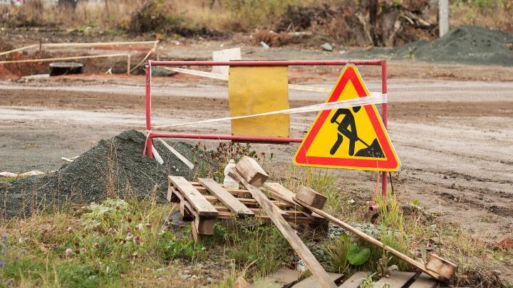 В Зауралье начали ремонтировать опасный мост, по которому возили школьников