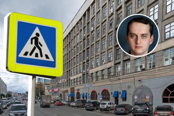 Урбанист предложил увеличить число пешеходных переходов на улице Малышева
