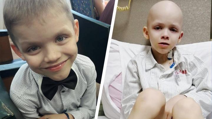 В Башкирии скончался 8-летний Ярослав Антошкин. Деньги на его лечение собирали всей страной