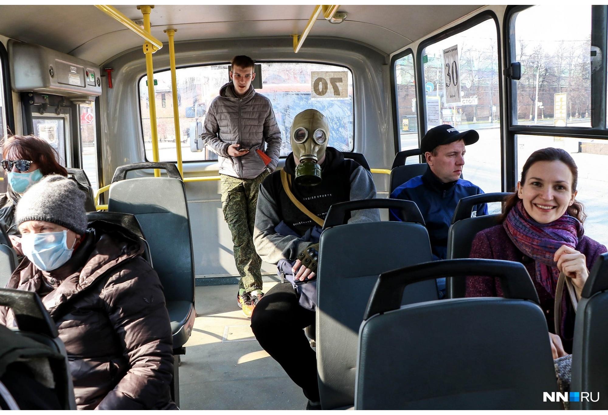 Нижний Новгород, весна 2020-го. Каждый понимает защиту от ковида по-своему