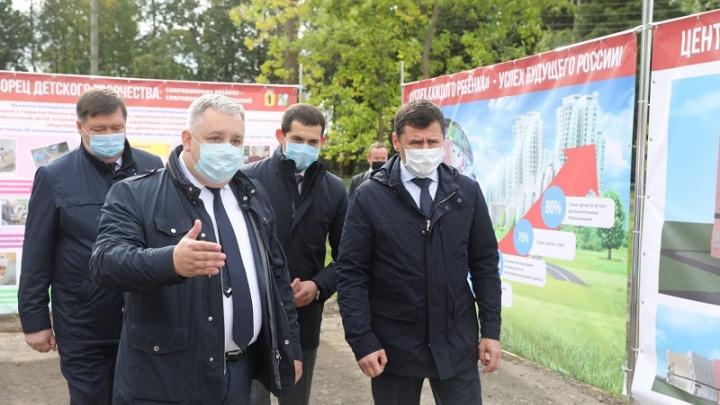 В приоритете — спортивная инфраструктура: губернатор Дмитрий Миронов посетил Гаврилов-Ямский район