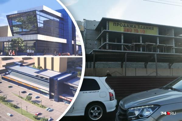 Сначала здесь проектировали торгово-офисный центр, потом — отель к саммитам-2020