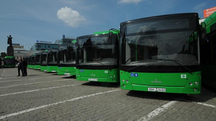 В ноябре в Екатеринбурге появятся 57 низкопольных автобусов