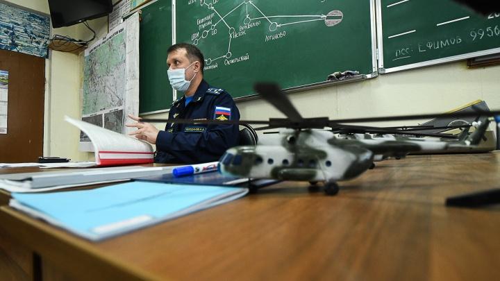 Весь маршрут авиапарада в Екатеринбурге: новые фото и видео репетиции из кабины вертолета