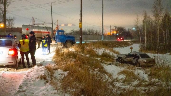Полиция возбудила уголовное дело по аварии с газовозом на Доковской