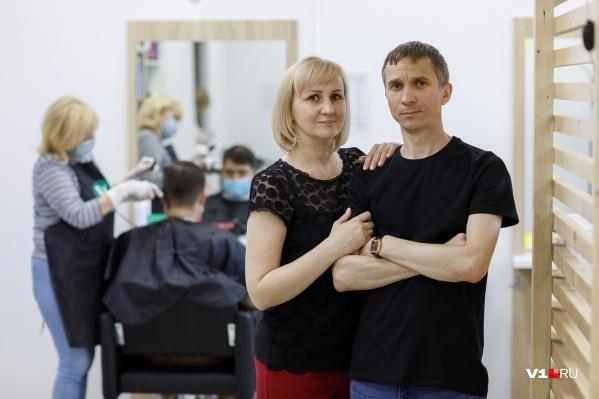 Виталий и Татьяна переехали в Волгоград из Новоаннинского района
