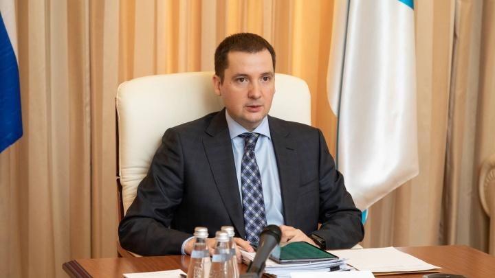 Про дороги, бизнес и COVID-19: Александр Цыбульский снова обратился к северянам. Видео