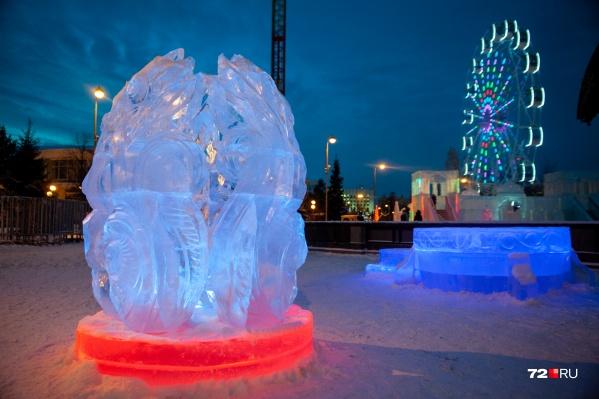В прошлом году ледовый городок обходился властям дороже