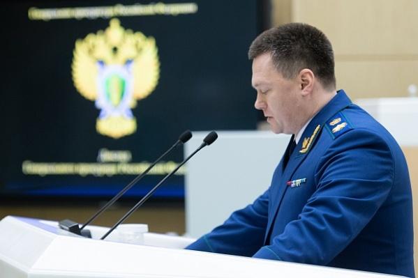 Информация о распространении коррупции в регионах стала известна из доклада генпрокурора РФ Игоря Краснова