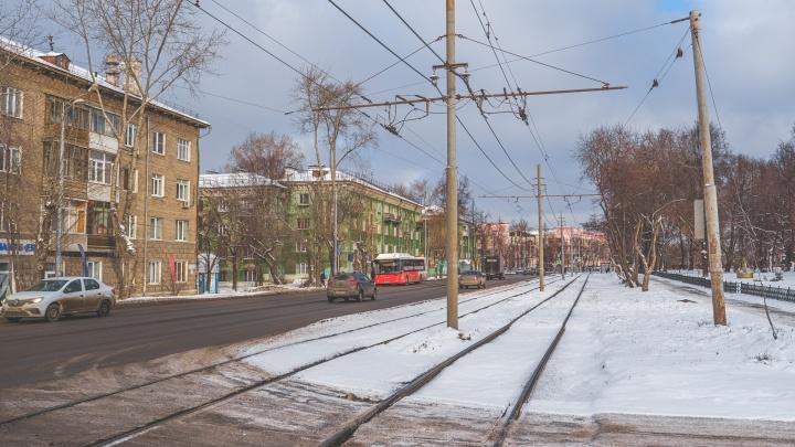 Движение трамваев на улице Уральской в Перми перекроют до осени