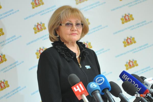 Людмила Бабушкина заболела коронавирусом в разгар работы над бюджетом 2021 года. Официально в Заксобрании не комментируют болезнь спикера