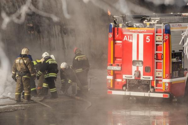 Площадь пожара составила 2 квадратных метра