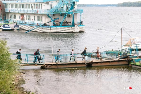 Сезон отдыха на правом берегу Волги подходит к концу