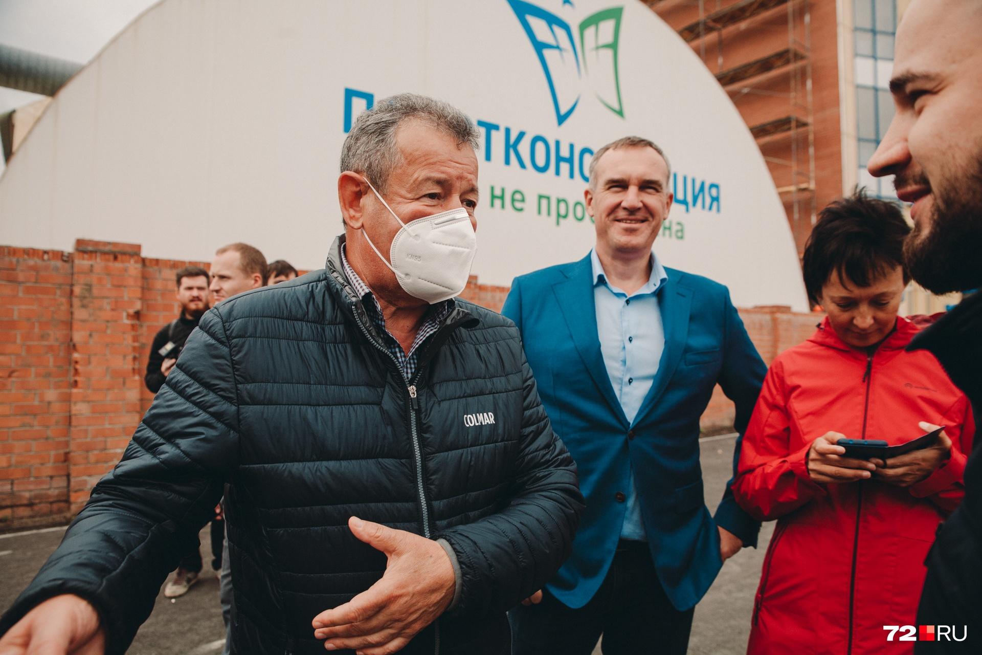 Глава «Мостостроя-11» Николай Руссу уверен, что развязку ругают те, кто не любит Тюмень