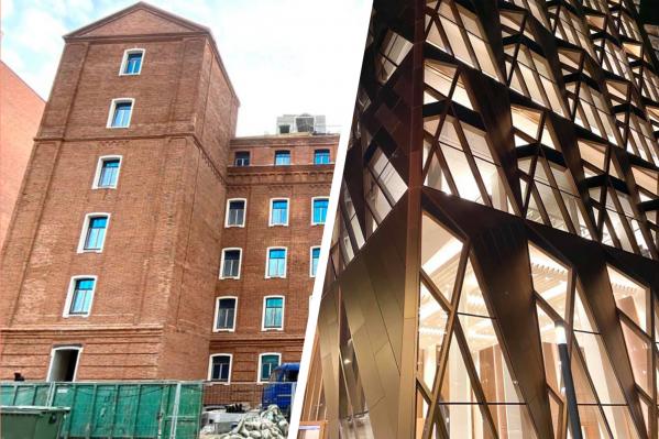 Жилой дом в элеваторе и здание из специальных зеркальных пластин — возможно, когда-нибудь такие смелые проекты появятся и в Самаре