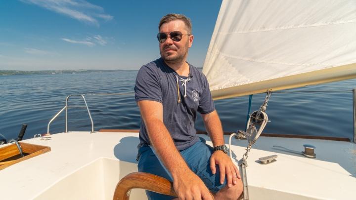«Это доступно не только миллионерам». Соскучившись по путешествиям, пермяк купил яхту и планирует кругосветку