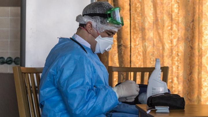 В Новосибирске новый случай заражения коронавирусом. Заболевший мужчина не был за границей