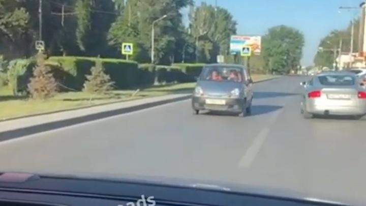 В Ростове оштрафовали старушку-гонщицу за опасную езду